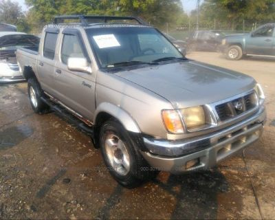 Salvage Gray 2000 Nissan Frontier 4wd