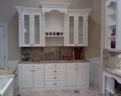 Kitchen Remodel & Refacing: Southwest Ranches, Fl. Custom built cabinets and furniture