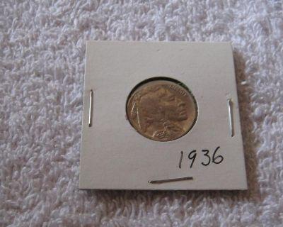 1936 Buffalo Nickel Fine Condition