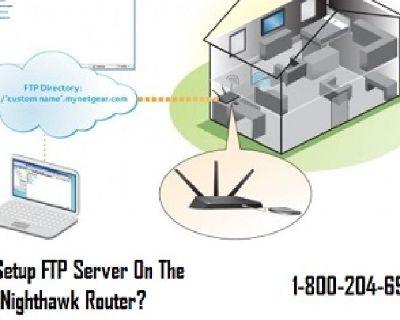 18002046959 How to Setup FTP Server On Netgear Nighthawk Router