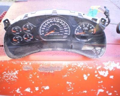 RARE Chevrolet Chevy Monte Carlo SS, Impala Gauge Cluster Speedometer GAUGES
