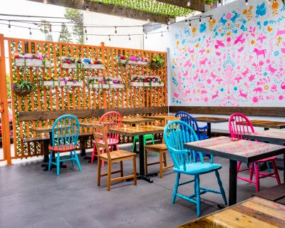 Vibrant Mexican Restaurant with Patio, Los Angeles, CA