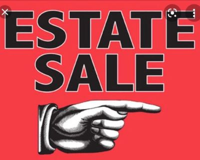 Estate Sale - Everything Must Go!