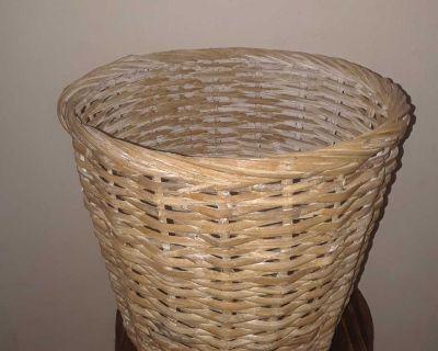 Plant/Waste/Storage Wicker Basket
