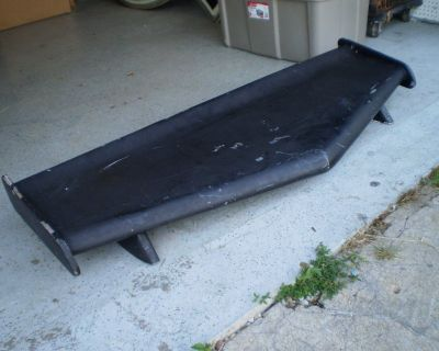 RARE CAR WING SPOILER  CAR WING SPOILER HOT ROD RAT ROD TRUCK