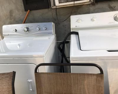 Washer and dryer set for sale