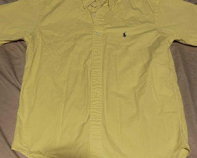 Polo Ralph Lauren short sleeve button up shirt