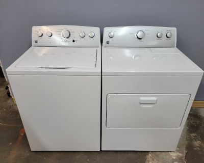 Kenmore HE Washer and Electric Dryer Matching Set