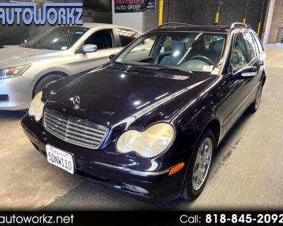 2002 Mercedes-Benz C-Class 4dr Wgn 3.2L