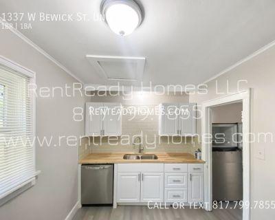 1337 W Bewick St. Unit A -- Pet-Friendly & $0 Deposit