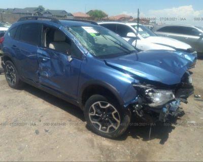 Salvage Blue 2016 Subaru Crosstrek