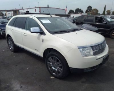 Salvage White 2008 Lincoln Mkx