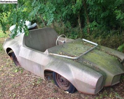 VW Camero Fiberglass Dune Buggy Body 2 Seat Open