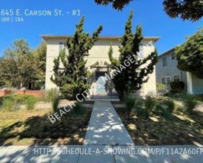 645 E Carson St #1, Long Beach, CA 90807 3 Bedroom Apartment