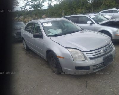 Salvage Silver 2009 Ford Fusion
