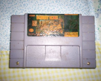 super nintendo - donkey kong 1 & 2 & 3 - tv is not included - just games