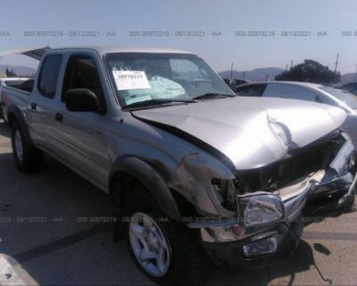 Salvage Silver 2004 Toyota Tacoma