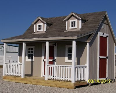 storage sheds, barns, cabins, portable buildings, backyard structures