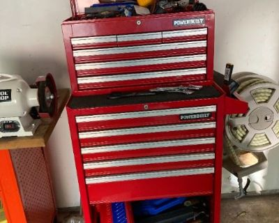 Bachelor's Pad Paradise! Air Compressors, Tools, Music, DVDS, and More!
