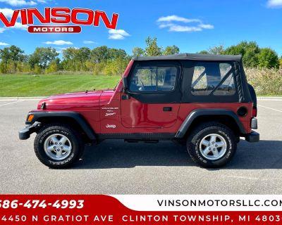 1999 Jeep Wrangler 2dr Sport