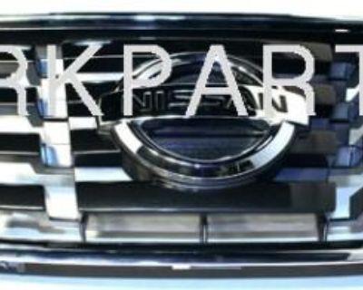 2008-2009 Nissan Sentra Chrome Grille Non-sport Genuine Oem Brand New