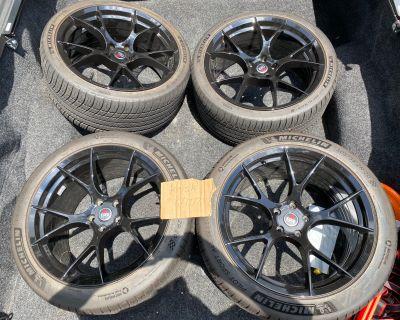 Project 6GR Ten 20x10, 20x11 w/ Michelin Pilot Sport All Season 4