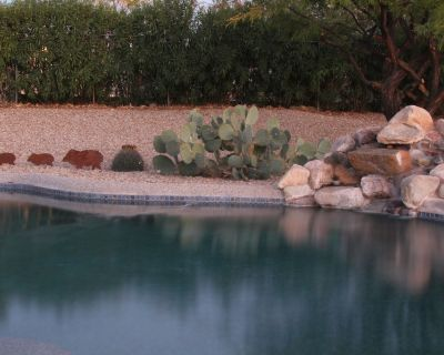 Private Pool & Hot Tub! Pet Friendly! Come relax in our private back yard. - Groves Lincoln Park