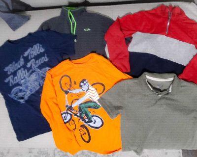 Lot of 5 shirts - Boys Size M 8-10