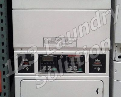 For Sale Speed Queen Commercial Stack Dryer Apt Size Card OPL SSGF09WJ White Finish Used