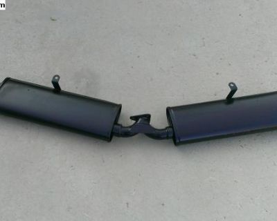 Bugpack Dual Quit Pack exhaust Ceramic Coated-USED