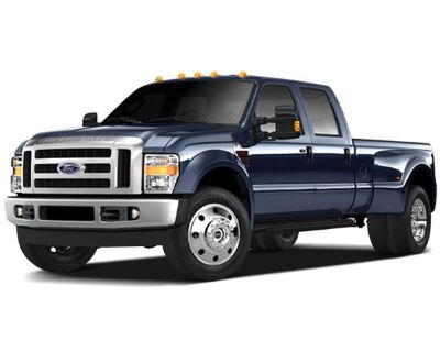 Pre-Owned 2009 Ford F-450SD Lariat 4WD 4D Crew Cab
