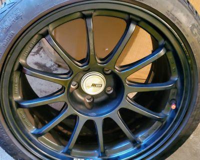 (FS: Boston) SSR Type F Wheels 18x10.5 +25 with Continental DWS 275 35 18