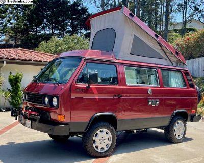 Camper Van, 87 Vanagon Synchro 4WD, GoWesty Built