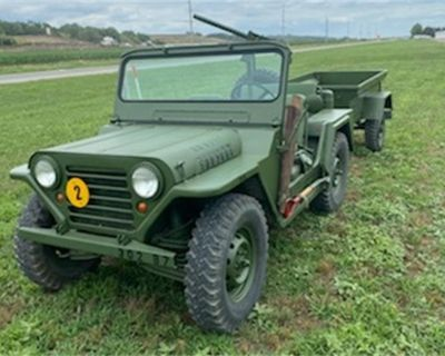1966 Ford Military Jeep