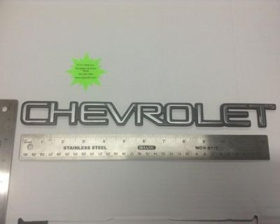"Emblem - "" Chevrolet "" Used -"