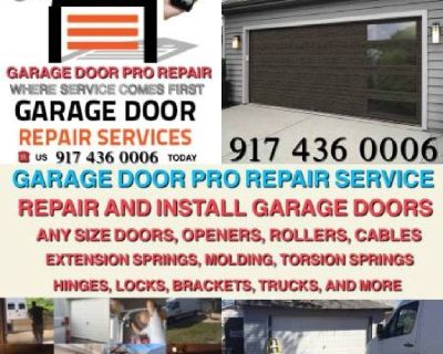 garage door repair and installation service New York and Long Island