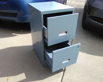 file cabinets 2 and 4 drawer.