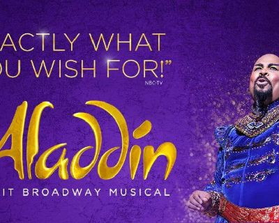 Free Tickets To Disney's Aladdin on Broadway @ Pantages Theatre