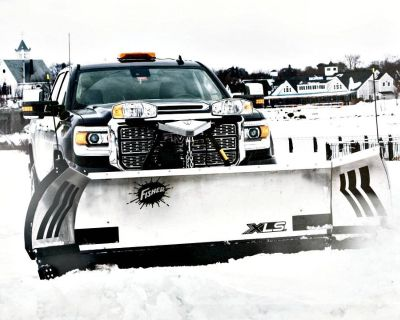 Fisher Engineering XLS 8' to 10' Snow Plow Blades Erie, PA