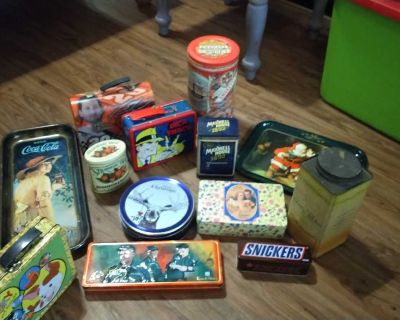 Tin can collection