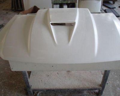Fiberglass 3 Inch Cowl Svo Bolt-on F150 Ford Hood 97-04