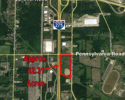 42.31 Acres w/ 1/2 mile of I-275 Exposure
