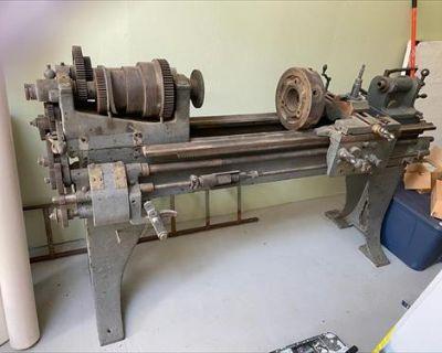 Vintage Machine Lathe