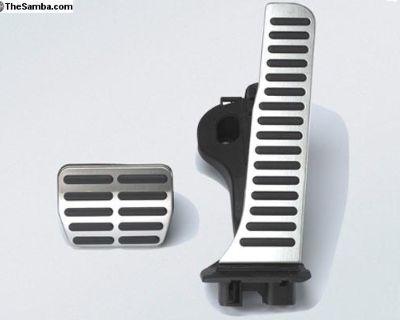 NEW OEM Sport Pedal Cap Set (Automatic) - Aluminum
