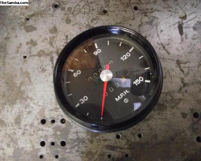Porsche 914 Restored 150 mph Speedometer