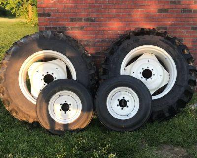Tractor wheels/tires
