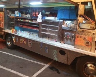 Chevrolet Step Van Food Truck / Mobile Kitchen with Pro Fire Suppression