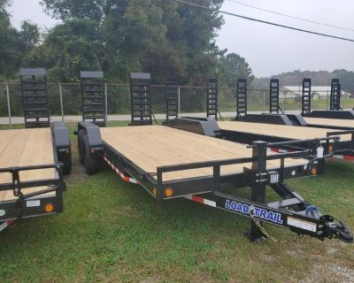 *IN STOCK* Brand New 20' Equipment Trailer (14,000# GVWR)