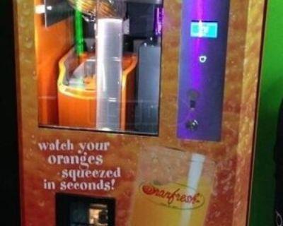 Orangfresh Electronic Fresh Orange Juice Vending Machines