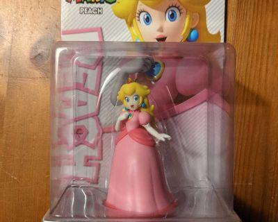 Princess Peach amiibo Figure - Super Mario series - Nintendo Switch, WiU, 3DS